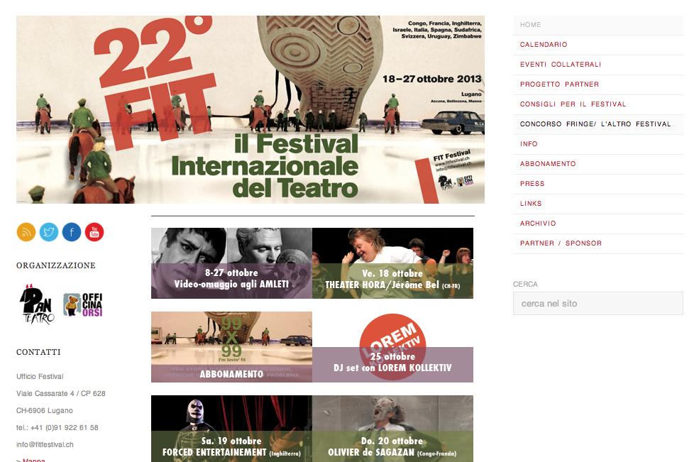Festival Internazionale di Teatro